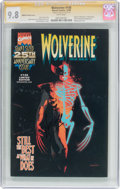 Modern Age (1980-Present):Superhero, Wolverine #145 Nabisco Variant Cover - Signature Series (Marvel,1999) CGC NM/MT 9.8 White pages....