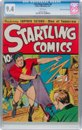 Golden Age (1938-1955):Superhero, Startling Comics #6 Mile High Pedigree (Better Publications, 1941) CGC NM 9.4 White pages....
