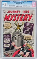 Silver Age (1956-1969):Superhero, Journey Into Mystery #85 (Marvel, 1962) CGC NM 9.4 White pages....