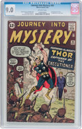 Silver Age (1956-1969):Superhero, Journey Into Mystery #84 (Marvel, 1962) CGC VF/NM 9.0 Off-white pages....