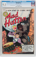Golden Age (1938-1955):Superhero, Mad Hatter #1 (O.W. Comics, 1946) CGC NM- 9.2 Off-white to whitepages....