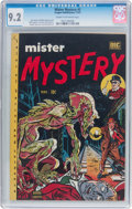 Golden Age (1938-1955):Horror, Mister Mystery #2 (Aragon, 1951) CGC NM- 9.2 Cream to off-whitepages....