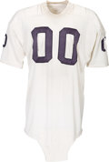 Football Collectibles:Uniforms, Late 1960's Jim Otto Game Worn, Signed Oakland Raiders Jersey - With Otto LOA (14 Team Repairs)!...