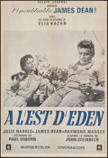 "Movie Posters:Drama, East of Eden (Warner Brothers, R-1970s). French Moyenne (21"" X31""). Drama.. ..."