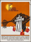 """Movie Posters:War, The Bridge on the River Kwai (Warner-Columbia, R-1970s). French Moyenne (23.5"""" X 31.5""""). War.. ..."""