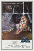 "Movie Posters:Science Fiction, Star Wars (20th Century Fox, 1977). Second Printing One Sheet (27""X 41"") Style A. Science Fiction.. ..."