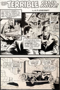 Original Comic Art:Panel Pages, Barry Windsor-Smith Masters of Terror #1 Story Page 1Original Art (Marvel, 1975.) ...