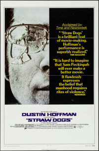 """Straw Dogs (Cinerama Releasing, 1972). One Sheet (27"""" X 41"""") Style C. Crime"""