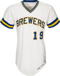 Baseball Collectibles:Uniforms, 1976 Robin Yount Game Worn Milwaukee Brewers Jersey. ...