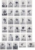 Football Collectibles:Photos, 1959 Green Bay Packers Team Issued Picture Pack Set (31)....