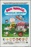 "Movie Posters:Animation, Bon Voyage, Charlie Brown & Others Lot (Paramount, 1980). One Sheets (3) (27"" X 41"" & 24.5"" X 36.5"") Charles Shultz Artwork.... (Total: 3 Items)"