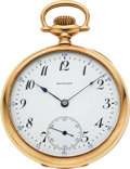 Timepieces:Pocket (post 1900), Howard 14k Gold 16 Size. ...