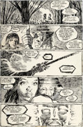 Original Comic Art:Panel Pages, Frank Miller Ronin #1 Story Page 24 Original Art (DC,1983)....