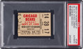 Football Collectibles:Tickets, 1959 Vince Lombardi 1st Game as Head Coach Ticket Stub PSA Authentic - One of Only 2 Slabbed by PSA!...