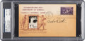 Baseball Collectibles:Others, 1939 Babe Ruth Signed Hall of Fame Grand Opening First Day Cover, PSA/DNA NM-MT 8.. ...