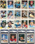Autographs:Sports Cards, Signed 1983 Fleer Baseball Near Set With 630 Autographed Cards! ...