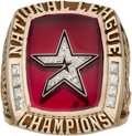 Baseball Collectibles:Others, 2005 Houston Astros National League Championship Ring withPresentation Box. ...