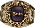 Baseball Collectibles:Others, 2001 Louisville Bats International League Championship Ring. ...