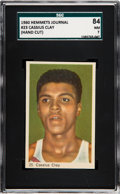 Boxing Cards:General, 1960 Hemmets Journal Cassius Clay (Muhammad Ali) Rookie #23 SGC 84NM 7 - Pop One, None Higher! ...