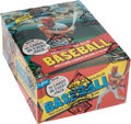Baseball Cards:Unopened Packs/Display Boxes, 1980 Topps Baseball Wax Box With 36 Unopened Packs....