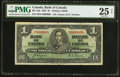 Canadian Currency: , Fancy Serial Number BC-21d $1 1937.. ...