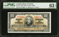 Canadian Currency: , BC-27b $100 1937.. ...