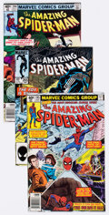 Modern Age (1980-Present):Superhero, The Amazing Spider-Man Group of 54 (Marvel, 1979-87) Condition:Average NM-.... (Total: 54 Comic Books)