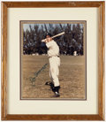 Autographs:Photos, Joe DiMaggio Signed Photograph. ...