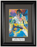 "Miscellaneous Collectibles:General, 1976 ""Elvis Presley"" Print Signed by LeRoy Neiman. ..."