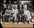 Baseball Collectibles:Photos, 1939 Baseball Hall of Fame Inaugural Induction Ceremony OriginalPhotograph, PSA/DNA Type 1....