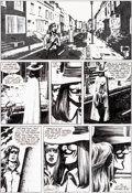 "Original Comic Art:Panel Pages, David Lloyd Warrior Magazine #13 Story Page 6 ""V For Vendetta"" Original Art (Quality Communications, 1982)...."