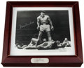 Boxing Collectibles:Autographs, 1993 Muhammad Ali Signed Fossil Watch With Display Container....