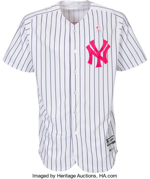 6ec8fa43 ... Baseball Collectibles:Uniforms, 2017 Matt Holliday Game Worn Unwashed New  York Yankees Jersey & ...