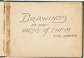 Original Comic Art:Sketches, Platinum Age Cartoonist Sketchbook Original Art (c. 1914)....