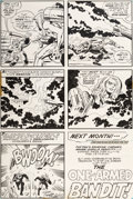 Original Comic Art:Panel Pages, Jack Kirby and Mike Royer Kamandi #4 Story Page 22 OriginalArt (DC, 1973)....