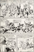 Original Comic Art:Panel Pages, Jack Kirby and Mike Royer Kamandi #3 Story Page 5 OriginalArt (DC, 1973)....