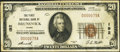 National Bank Notes:Maine, Brunswick, ME - $20 1929 Ty. 1 The First NB Ch. # 192. ...