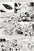 Original Comic Art:Panel Pages, Dick Dillin and Sid Greene Atom and Hawkman #42 Story Page14 Original Art (DC, 1969)....