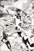 Original Comic Art:Splash Pages, Gene Colan and Tom Palmer Daredevil #89 Splash Page 14Original Art (Marvel, 1972)....