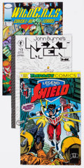 Modern Age (1980-Present):Miscellaneous, Comic Books - Assorted Modern Age Indie Comics Box Lot (Various Publishers, 1980s-90s) Condition: Average NM-....