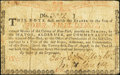 Colonial Notes:New York, New York August 25, 1774 (Water Works) 4s Very Good.. ...