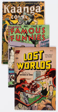 Golden Age (1938-1955):Miscellaneous, Comic Books - Assorted Golden Age Comics Group of 20 (Various Publishers, 1946-53) Condition: Average VG+.... (Total: 20 Comic Books)