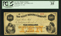 Obsoletes By State:Michigan, Eagle River, MI - Bay State Mining Co. $10 Sept. 29, 1866 Lee CMGC-3-19. ...