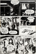 Original Comic Art:Panel Pages, Michael W. Kaluta The Shadow #2 Page 19 Original Art (DC,1973)....