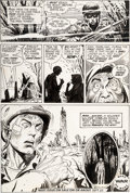 Original Comic Art:Panel Pages, Joe Kubert Weird War Tales #1 Page 6 Original Art (DC,1971)....