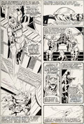 Original Comic Art:Panel Pages, George Perez and Fred Kida The Inhumans #2 Story Page 2Original Art (Marvel, 1975)....