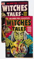 Golden Age (1938-1955):Horror, Witches Tales #3 and 17 Group (Harvey, 1951-53).... (Total: 2 ComicBooks)