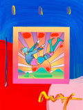 Fine Art - Painting, American:Contemporary   (1950 to present)  , Peter Max (American, b. 1937). Cosmic Flyer, 2007.Screenprint in colors with acrylic on paper. 17 x 13 inches (43.2 x3...