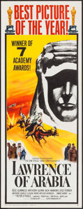 "Movie Posters:Academy Award Winners, Lawrence of Arabia (Columbia, 1963). Insert (14"" X 36"") Style B.Academy Award Style.. ..."