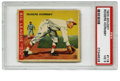 "Baseball Cards:Singles (1930-1939), 1933 Goudey Rogers Hornsby #119 PSA VG 3. ""The Rajah"" has beenfaithfully rendered for this exceptional #119 entry from the..."
